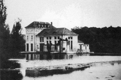 Здание электростанции. 1938 г.