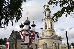 Храм Зачатия Праведной Анны в городе Чехов Московской области
