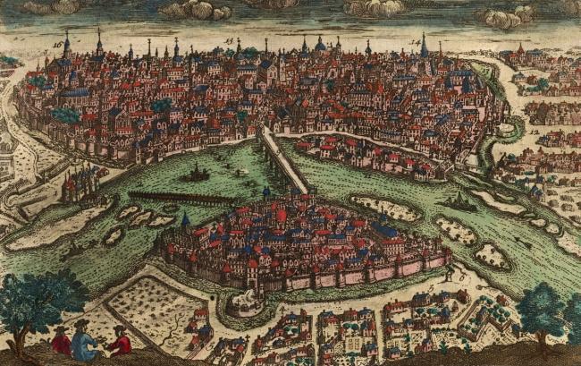 Вид Тулузы в эпоху Возрождения