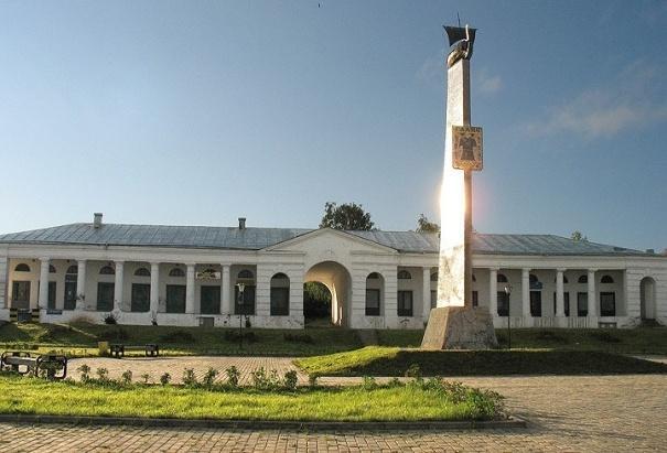 Галичские ряды и церковь Богоявления