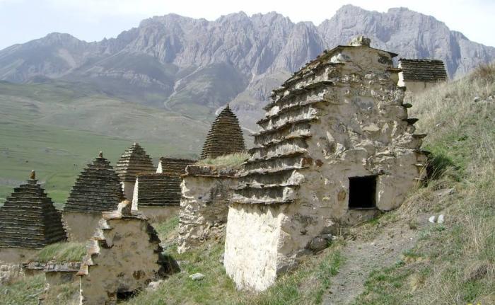 Город мертвых Северная Осетия фото
