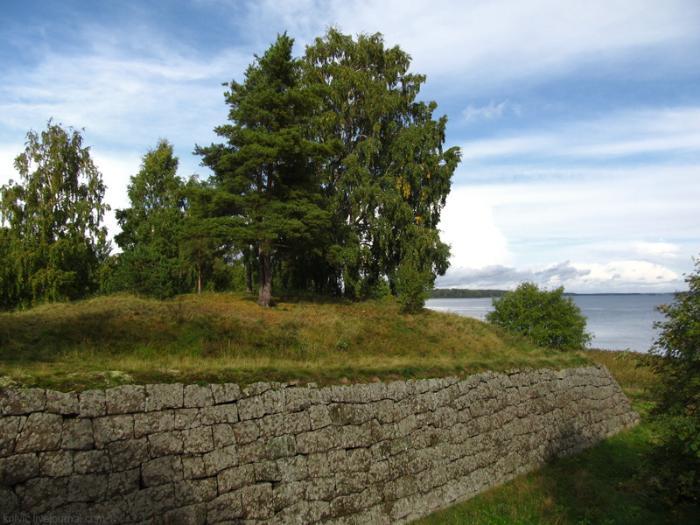 укрепления крепости Тронгзунд
