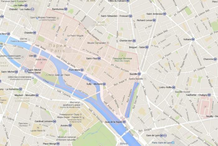 4 округ Парижа– Отель-де-Вилль