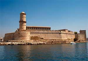 Форт св. Николая в Марселе