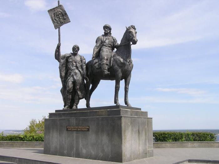 Памятник Богдану Хитрово