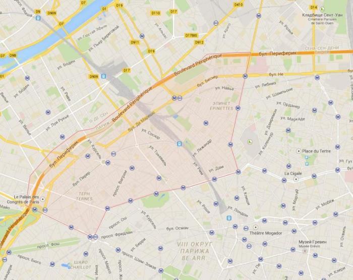 17 округ Парижа – Батиньоль – Монсо