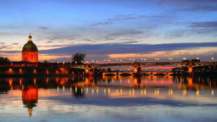 Самые красивые города Франции - Тулуза, 10 самых красивых городов Франции, самые красивые города Франции, города Франции, самые интересные города Франции, куда поехать во Франции, что стоит посмотреть во Франции, лучшие места во Франции, лучшие города во Франции