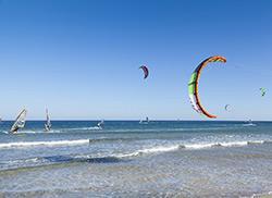 Винд-серфинг, Родос