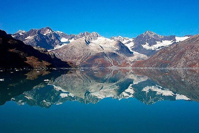 Национальный ледниковый парк Глейшер-Бей Аляска фото