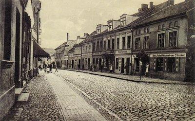 Улица Ландгассе. 1915 г.