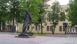 Памятник Алексею Решетову Березники