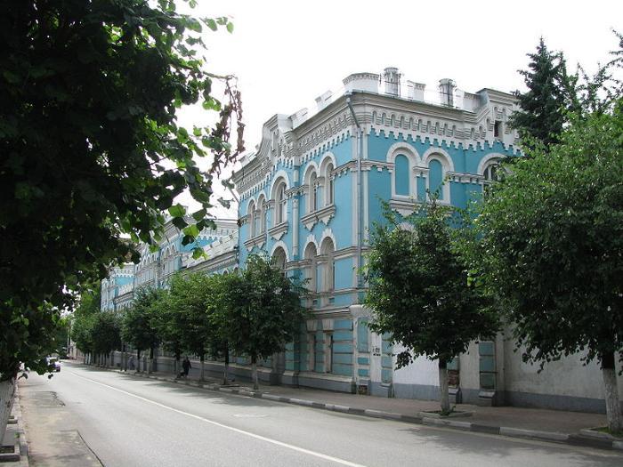 Здание земской управы