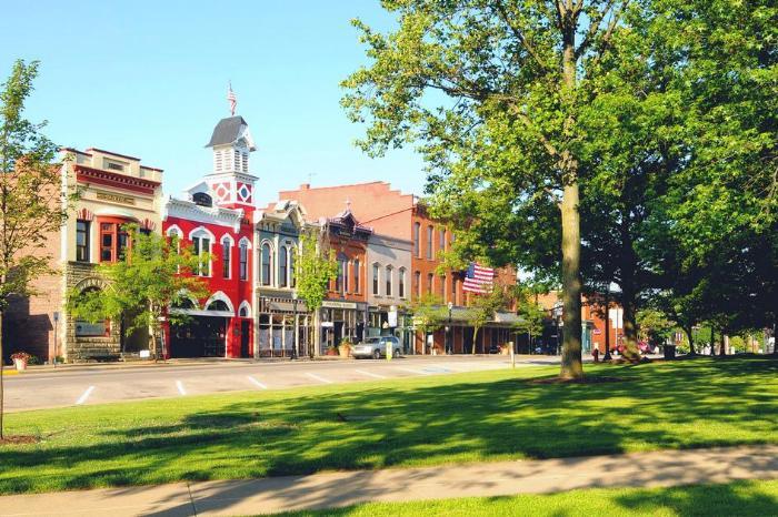 Самый культурный штат США Луизиана - фото одного из городов