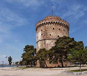 Белая Башня - вот что в первую очередьнужно посмотреть в Салониках