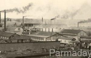 Старое фото завода в Лысьве