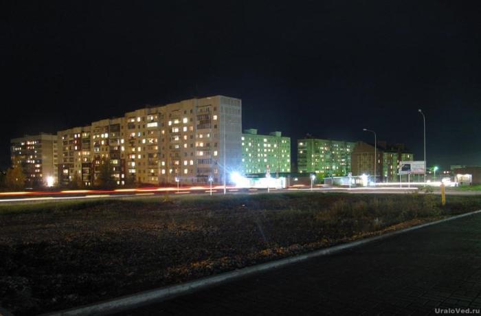 Ночной Чусовой