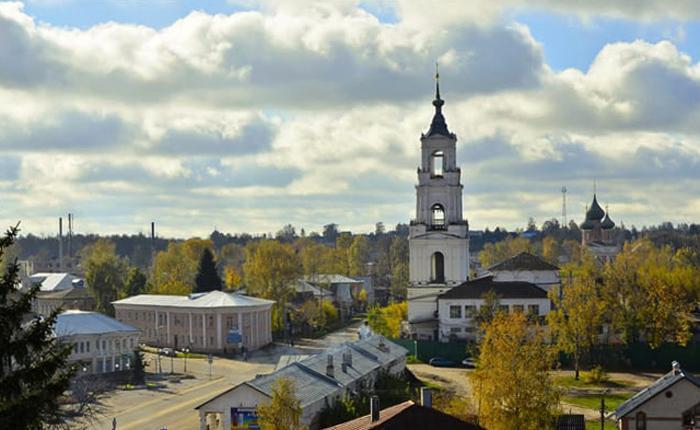 Казанский собор в городе Нерехта