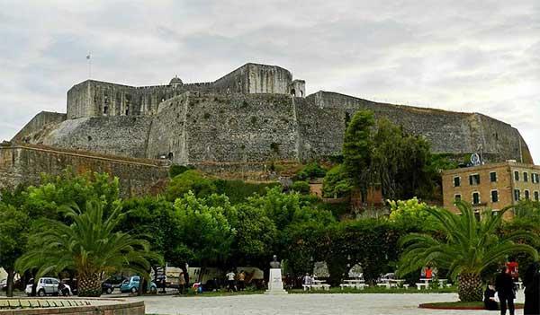 Достопримечательности острова Корфу - новая крепость