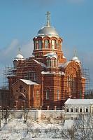 Фото: отреставрированный Никольский собор Покровского монастыря в Хотькове