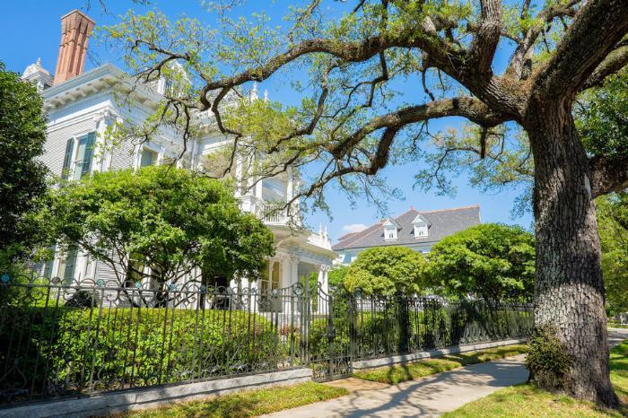 Основные достопримечательности штата Луизиана в Америке - фото улиц в Новом Орлеане