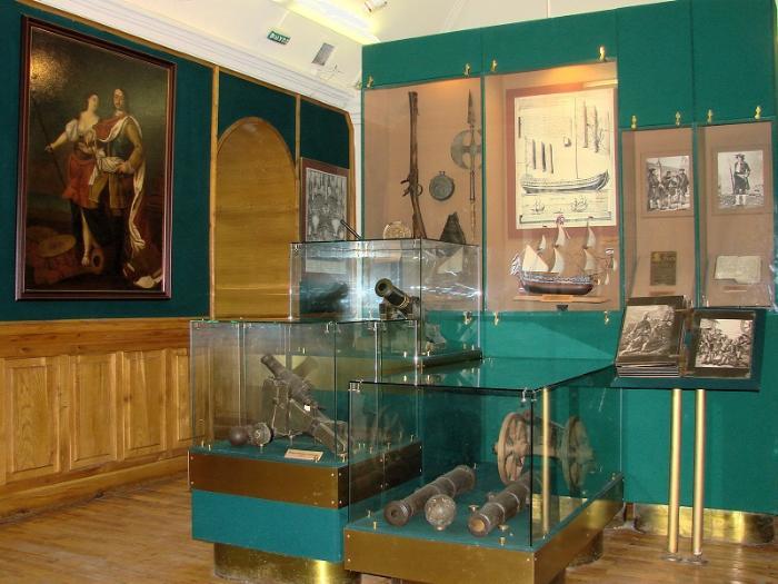 Дом-музей ПетраI внутри