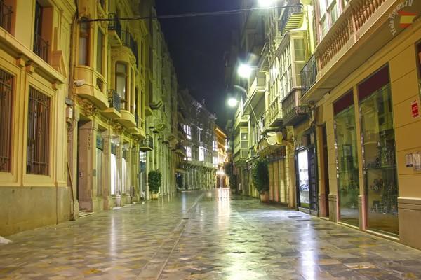 Ночные улицы исторической части города
