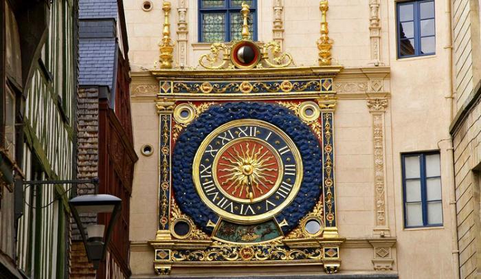Большие городские часы