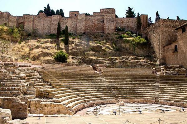 rim theatr malaga Римский театр в Малаге