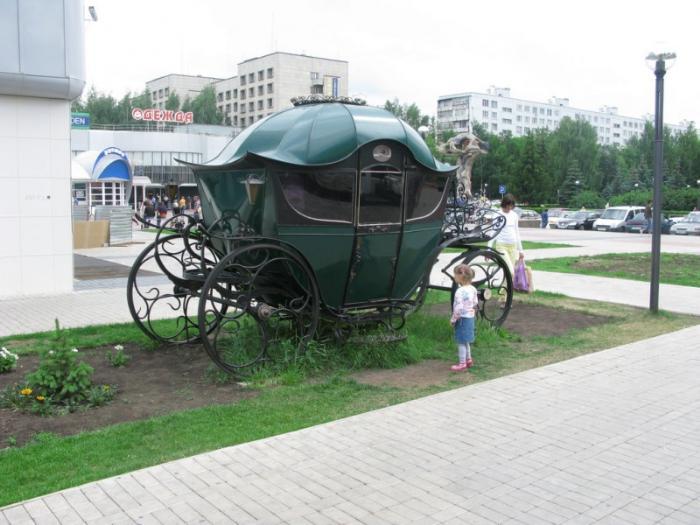 Площадка около ресторана «Искушение», Набережные Челны