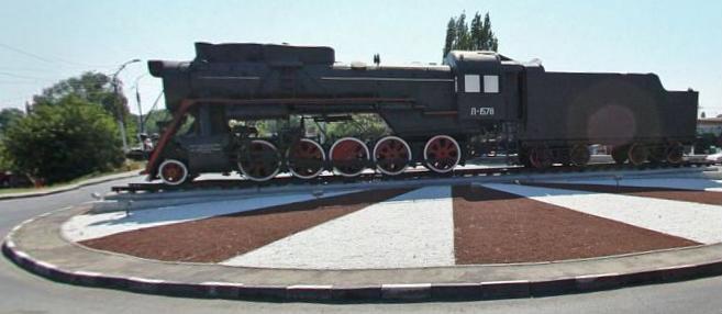 Памятник паровозу серии «Л», Энгельс