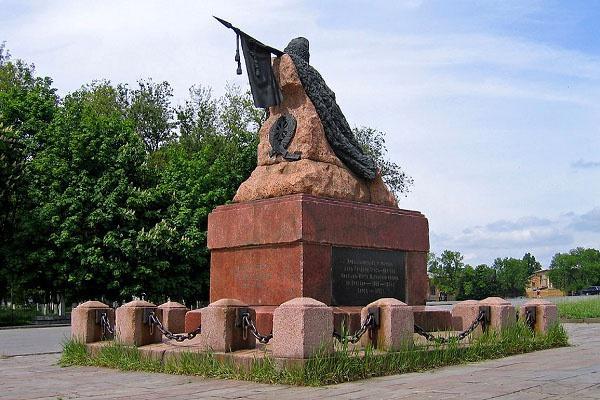 Памятник атаману Я.П.Бакланову, Новочеркасск