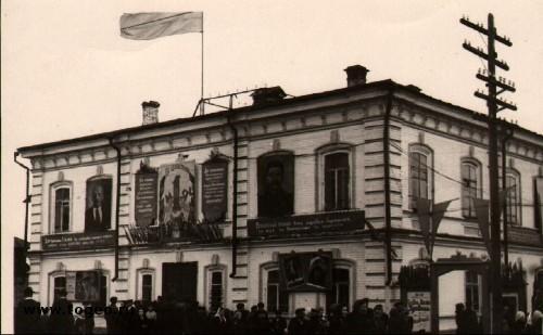 Кинотеатр «Прогресс» – бывшее здание Волостного правления