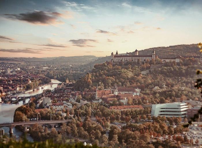 Пейзажи Вюрцбурга