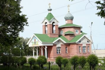 Никольская церковь г. Горняка