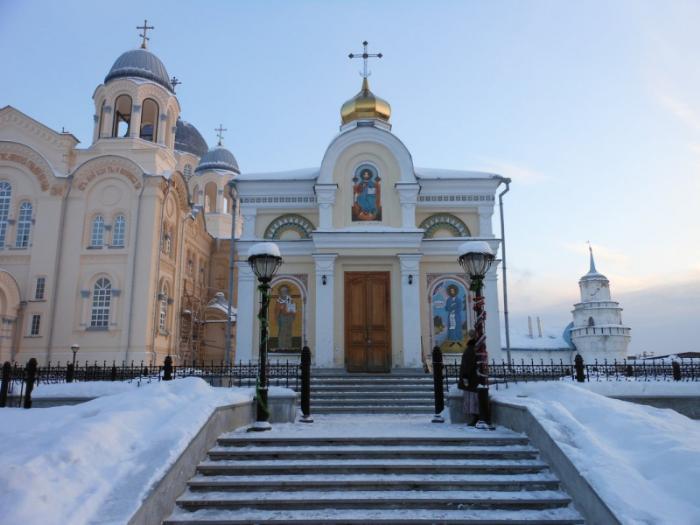 Церковь Николая Чудотворца, Верхотурье