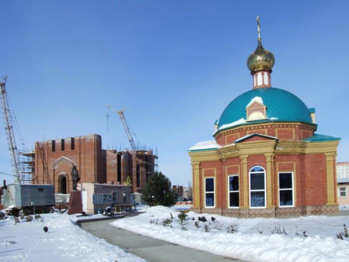 Малый храм святого Фёдора Ушакова, Волгодонск