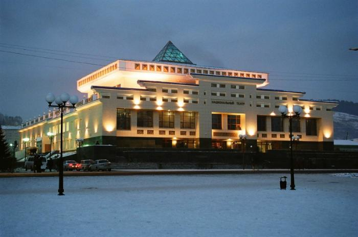 Национальный театр драмы, Горно-Алтайск