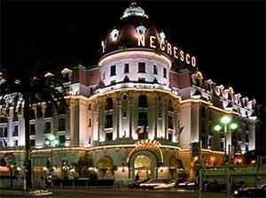 Отель «Негреско» - еще одна известная достопримечательность Ниццы