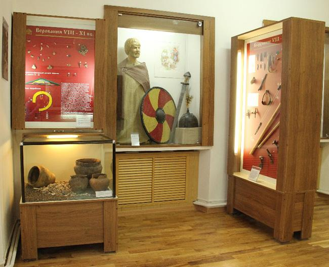 Курский музей археологии - экспонаты