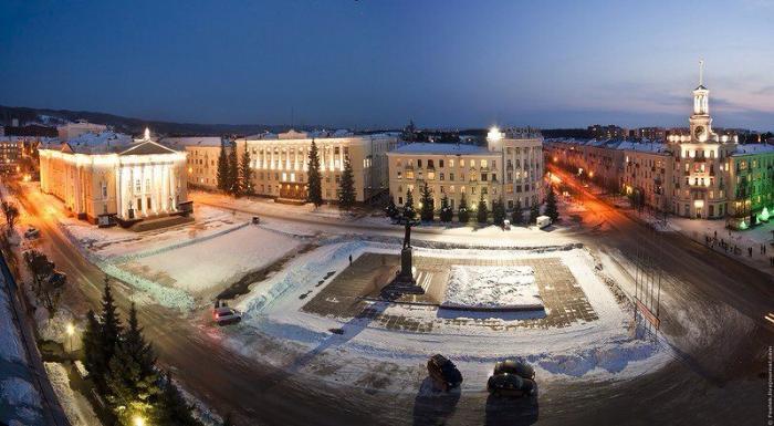 Места Маршрут: Куда сходить в Железногорске?