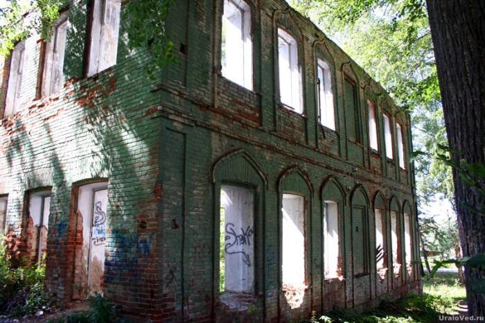 Руины бывшего ремесленного училища