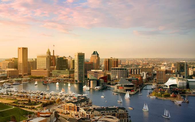 Город Балтимор США