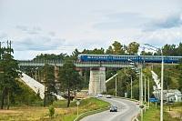 Фото: железнодорожный мост в Хотькове
