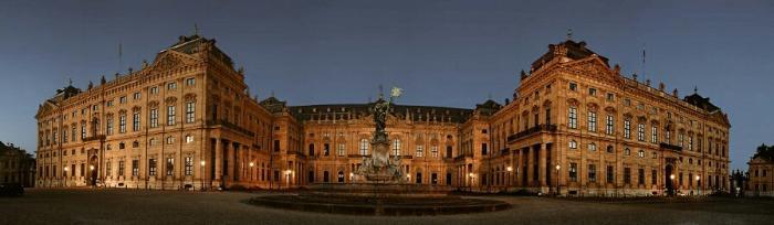 Резиденция в Вюрцбурге