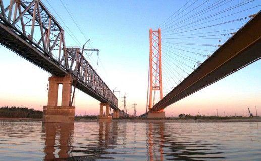 фотография сургутского моста