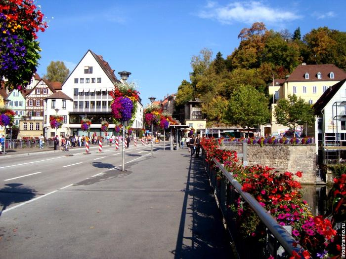 мост в тюбингене