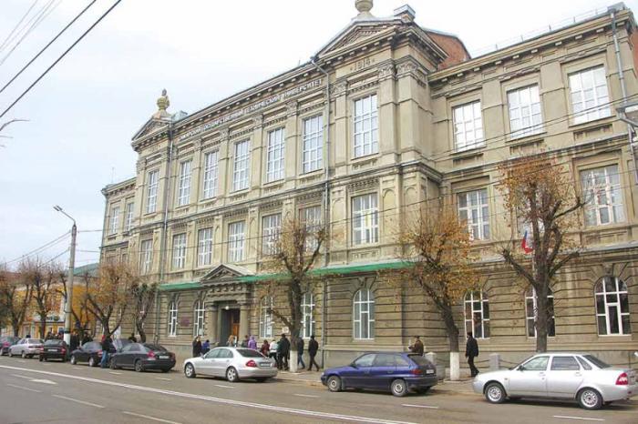 Здание первой женской гимназии, Сызрань
