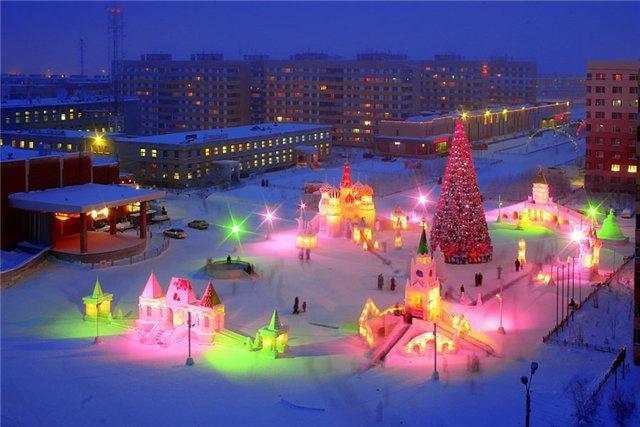 Снежный городок, Новый Уренгой