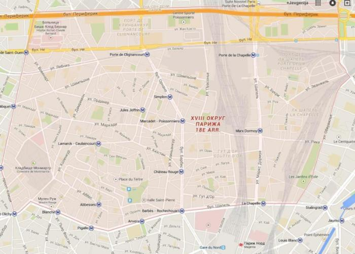 18 округ Парижа – Монмартр