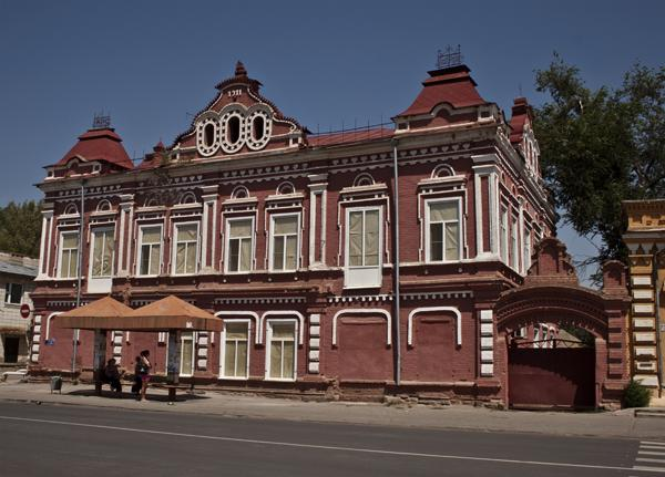 Старинное здание Ленинска Волгоградской области